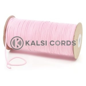 T460 2mm Thin Round Polyester Cord Baby Pink Kalsi Cords