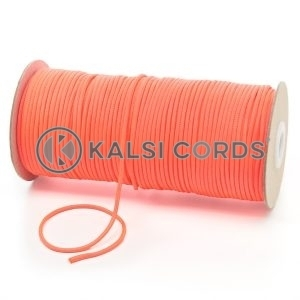 T460 2mm Thin Round Polyester Cord Fluorescent Pink Kalsi Cords