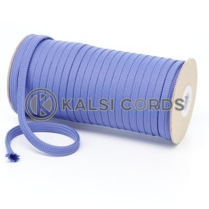 T461 7mm Flat Tubular Polyester Braid Lilac Kalsi Cords