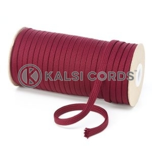 T461 7mm Flat Tubular Polyester Braid Porto Kalsi Cords