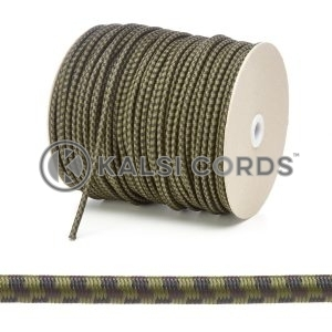 PE114 5mm Round Bungee Shock Cord Camouflage Edit 3 Kalsi Cords