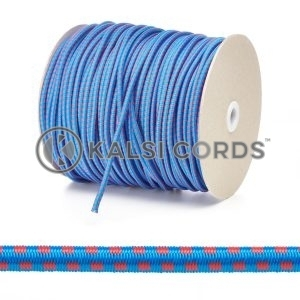 PE114 5mm Round Bungee Shock Cord Royal Blue with Red Blocks Edit 3 Kalsi Cords