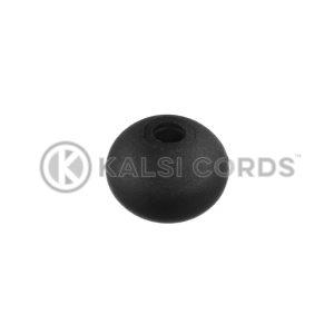 4mm Plastic Ball Ties Rope End Tidy PBT 4 BLK Kalsi Cords 1