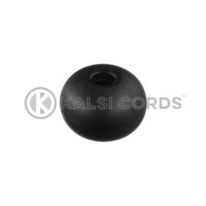 8mm Plastic Ball Ties Rope End Tidy PBT 8 BLK Kalsi Cords 1