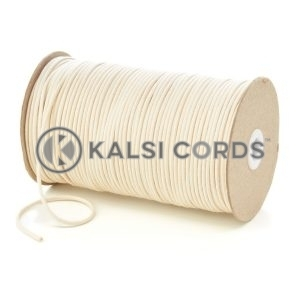 C250 2mm Thin Round Cotton Cord Natural Undyed Kalsi Cords