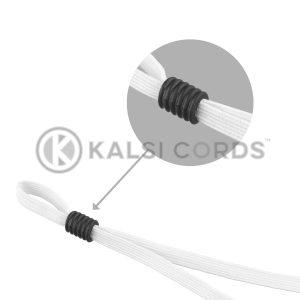Face Mask Ear Loop Elastic with Black Rubber Cylinder Stopper Adjuster Kalsi Cords Category Tile 1