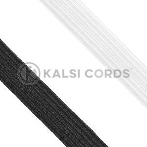 10mm 12 Cord Flat Braided Elastic