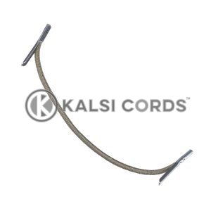 2mm Round Elastic Metal Tongue Tags Khaki MTNG TPE84 KHAKI 1 Kalsi Cords