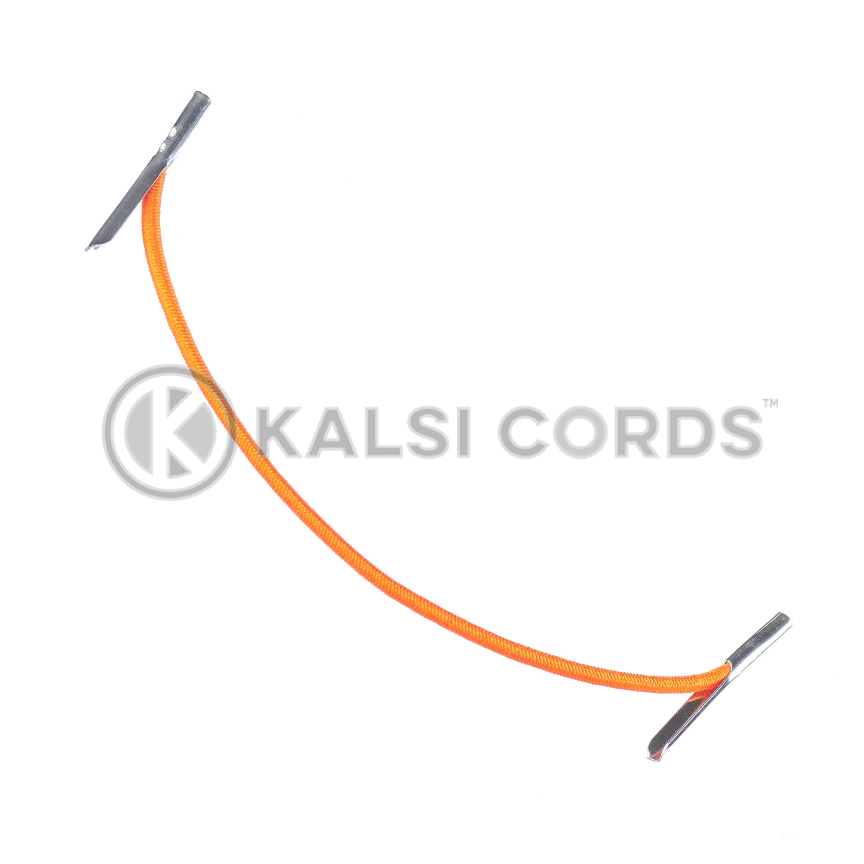 2mm Round Elastic Metal Tongue Tags Orange MTNG TPE84 ORG 1 Kalsi Cords