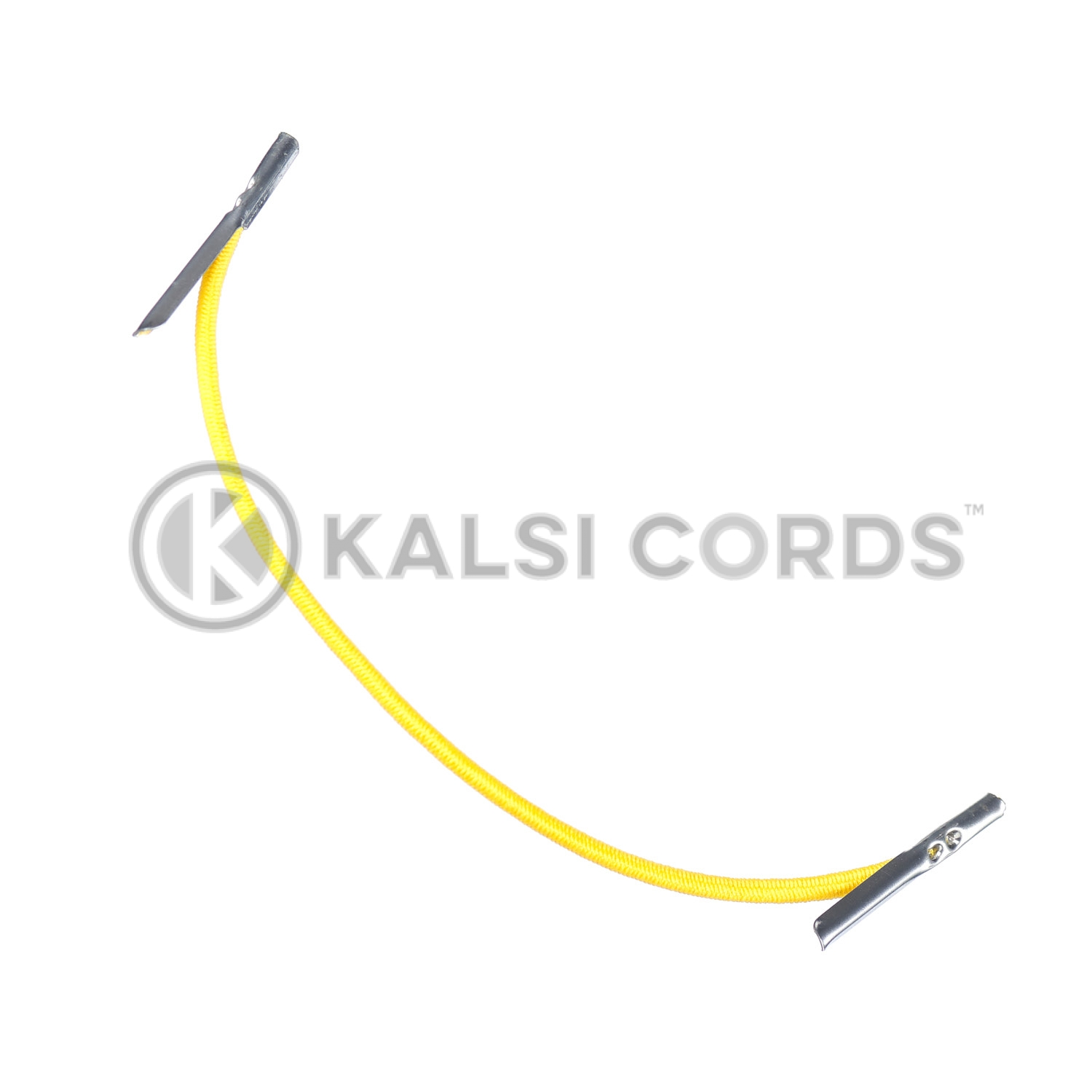 2mm Round Elastic Metal Tongue Tags Yellow MTNG TPE84 YELL 1 Kalsi Cords