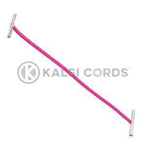 2mm Round Elastic Metal Treasury Tags Cerise MTT TPE84 CER 1 Kalsi Cords