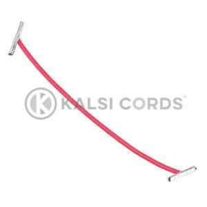 2mm Round Elastic Metal Treasury Tags Rose Madder Red MTT TPE84 RMDR 1 Kalsi Cords