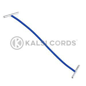 2mm Round Elastic Metal Treasury Tags Royal Blue MTT TPE84 RYL 1 Kalsi Cords