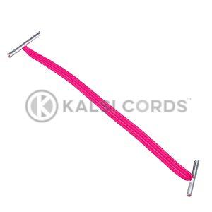 4mm Flat Elastic Metal Treasury Tags Cerise MTT TPE142 CER 1 Kalsi Cords