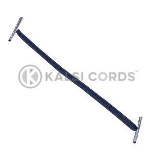 4mm Flat Elastic Metal Treasury Tags Dark Navy MTT TPE142 DK.NVY 1 Kalsi Cords
