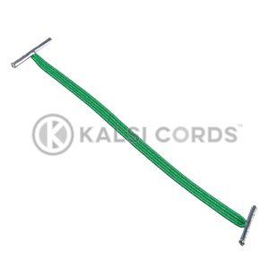 4mm Flat Elastic Metal Treasury Tags Emerald Green MTT TPE142 EM.GRN 1 Kalsi Cords