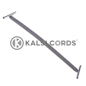 4mm Flat Elastic Metal Treasury Tags Grey MTT TPE142 GREY 1 Kalsi Cords