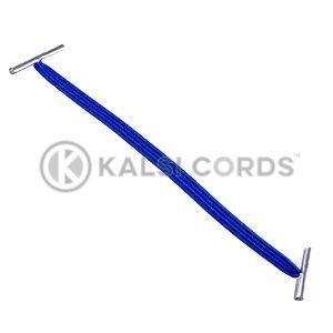 4mm Flat Elastic Metal Treasury Tags Royal Blue MTT TPE142 RYL 1 Kalsi Cords