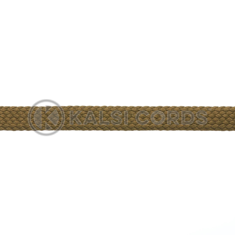R1176 9mm Flat Tubular Shoe Laces Everglade 3 Kalsi Cords