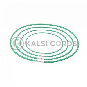 2mm Round Elastic Menu Loop Emerald Green ML TPE84 EM.GRN 1 Kalsi Cords v2