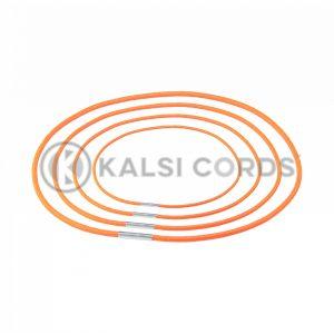 2mm Round Elastic Menu Loop Orange ML TPE84 ORG 1 Kalsi Cords v2