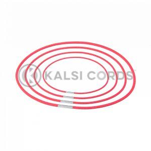 2mm Round Elastic Menu Loop Rose Madder Red ML TPE84 RMDR 1 Kalsi Cords v2