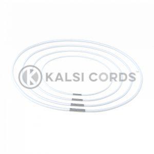 2mm Round Elastic Menu Loop White ML TPE84 ECRU 1 Kalsi Cords v2