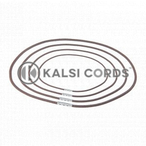 2mm Round Elastic Menu Loop York Brown ML TPE84 YK.BRN 1 Kalsi Cords v2