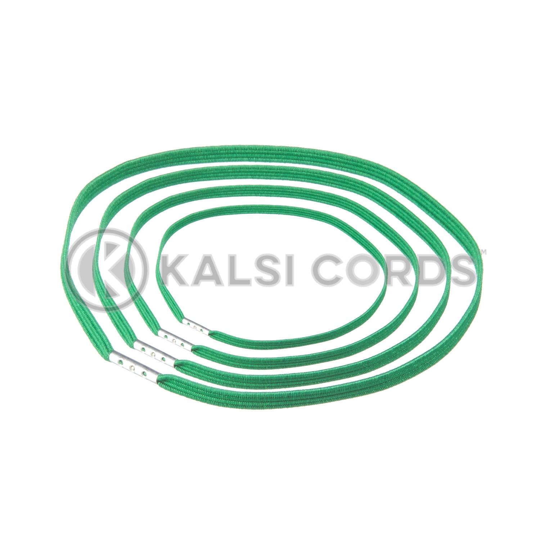 4mm Flat Elastic Menu Loop Emerald Green ML TPE142 EM.GRN 1 Kalsi Cords v2