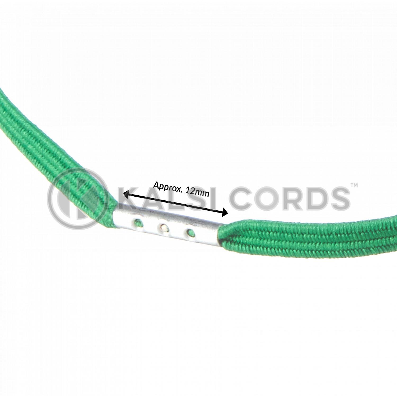 4mm Flat Elastic Menu Loop Emerald Green ML TPE142 EM.GRN Edit 3 Kalsi Cords