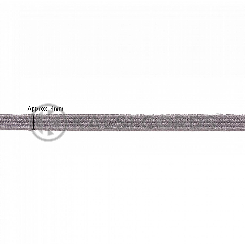 4mm Flat Elastic Menu Loop Grey ML TPE142 GREY Edit 2 Kalsi Cords