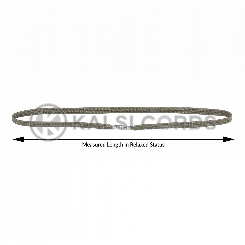 4mm Flat Elastic Menu Loop Khaki ML TPE142 KHAKI Edit 4 Kalsi Cords
