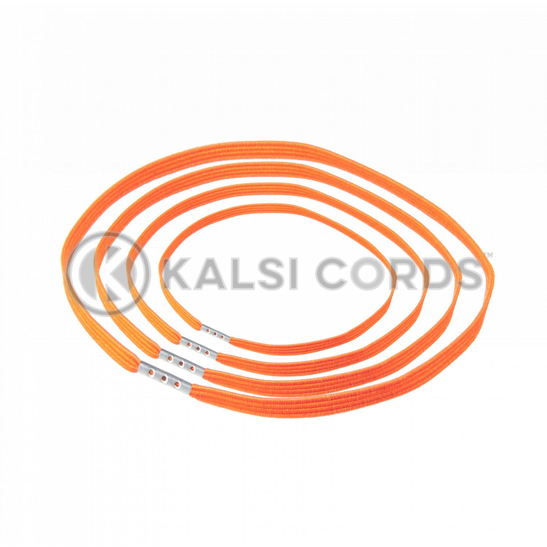 4mm Flat Elastic Menu Loop Orange ML TPE142 ORG 1 Kalsi Cords v2