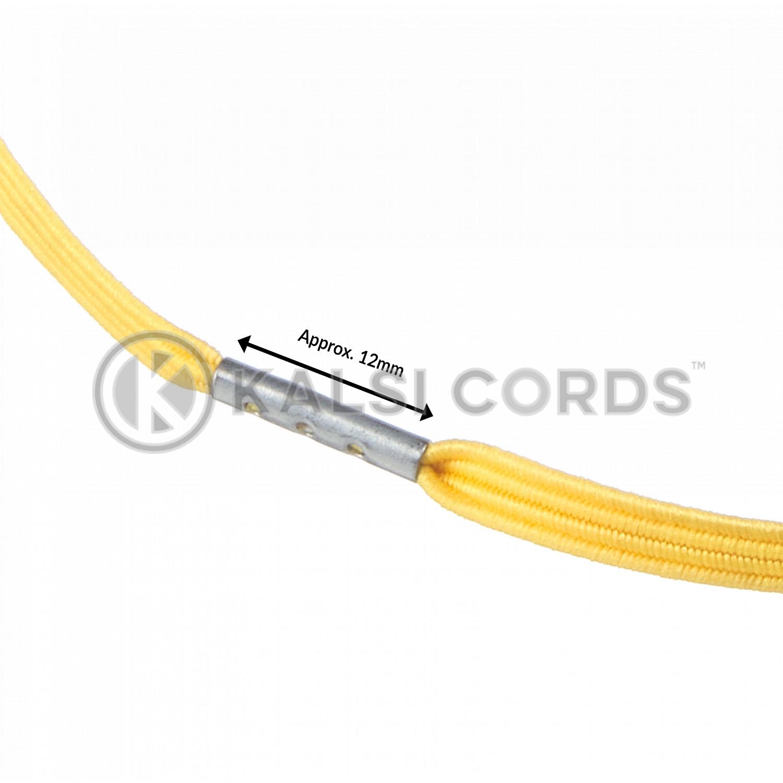 4mm Flat Elastic Menu Loop Yellow ML TPE142 YELL Edit 3 Kalsi Cords